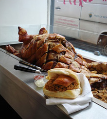 Oink Hog Roast, Edinburgh